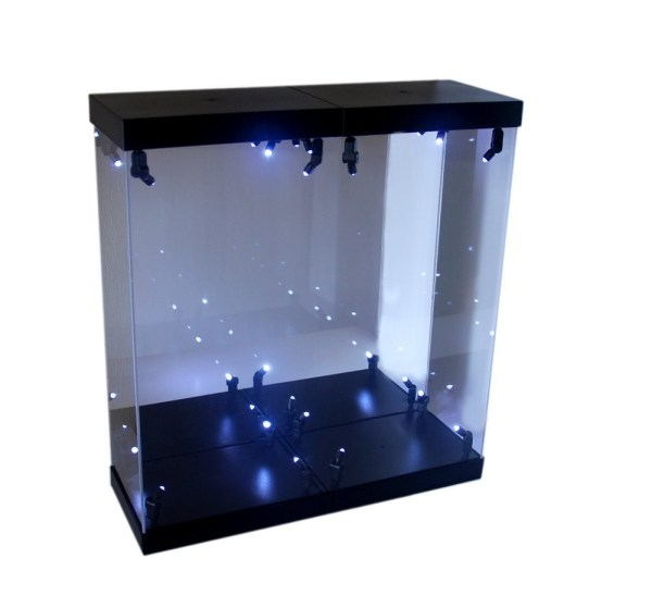 LED Acrylic Light Box Display Case