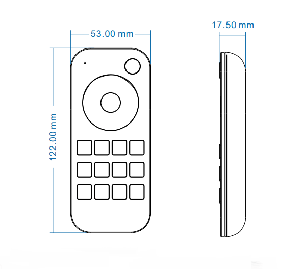 Skydance Rt4 2.4g Rf Wireless Remote Control With 4 Scenes