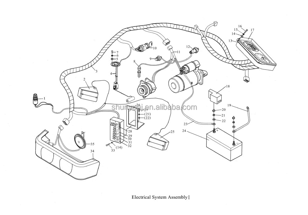 yanmar tractor 1601 wiring diagrams