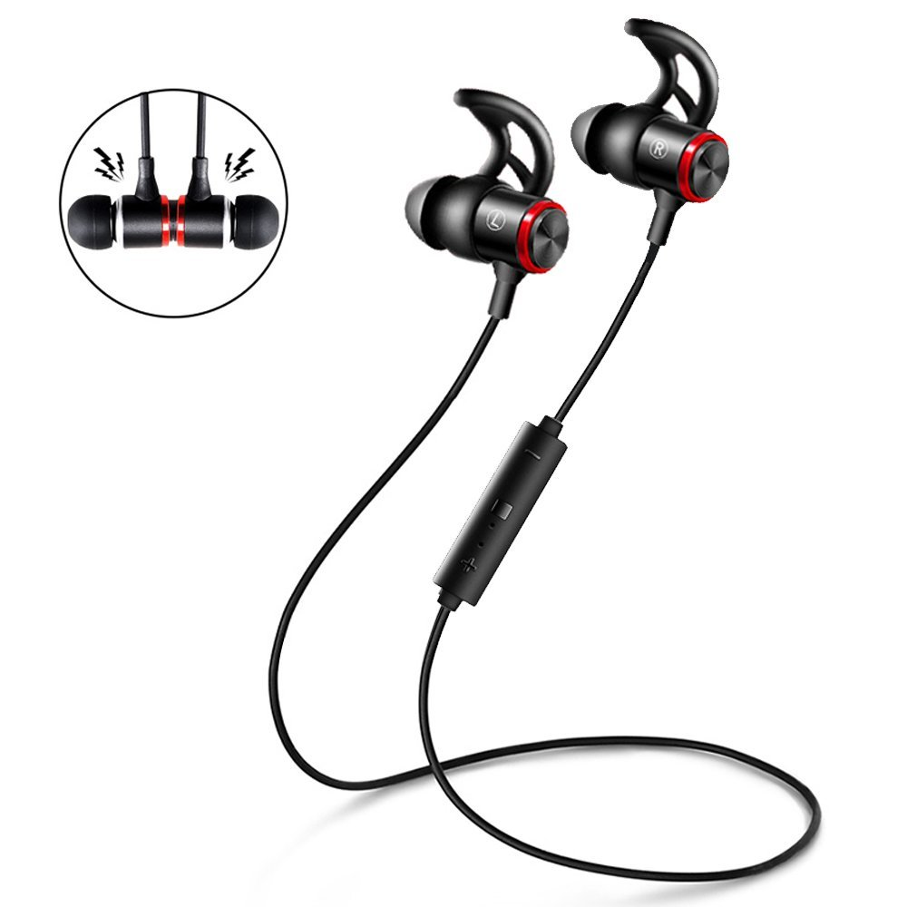 medium resolution of get quotations wireless earbuds v4 1 bluetooth headphones in ear sport earbuds bluetooth earphones noise isolating