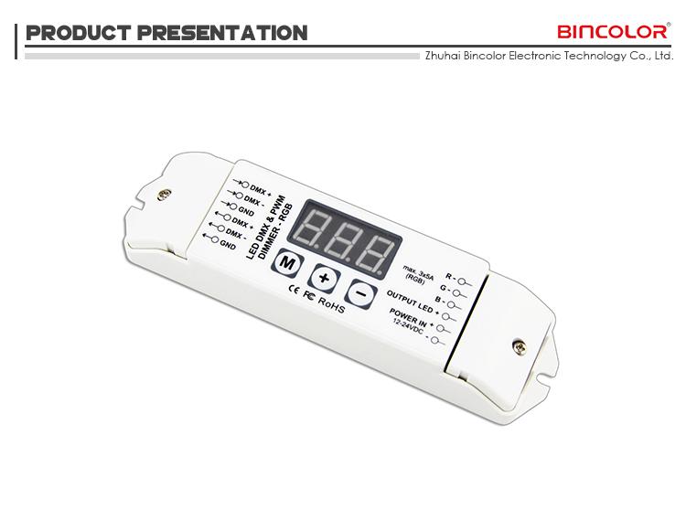 Bc-833 Dc 12v 3 Channels Led Rgb Light Dmx Led Driver