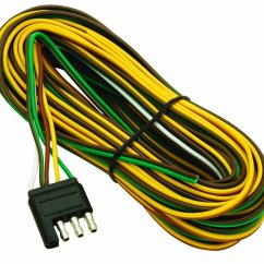 Standard 4 Way Trailer Wiring Diagram Lights In Series Buy Wesbar 707261 Wishbone Style Harness With Flat Connector