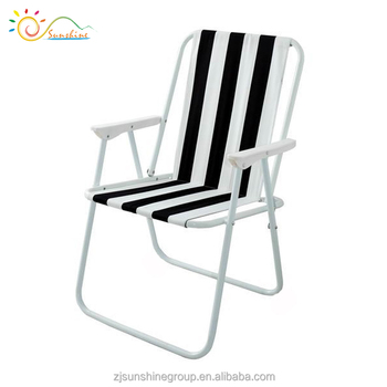portable picnic chair front door yongkang folding striped camping buy