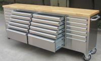 96 Inch Large Stainless Steel Tool Chest With 24 Drawers ...