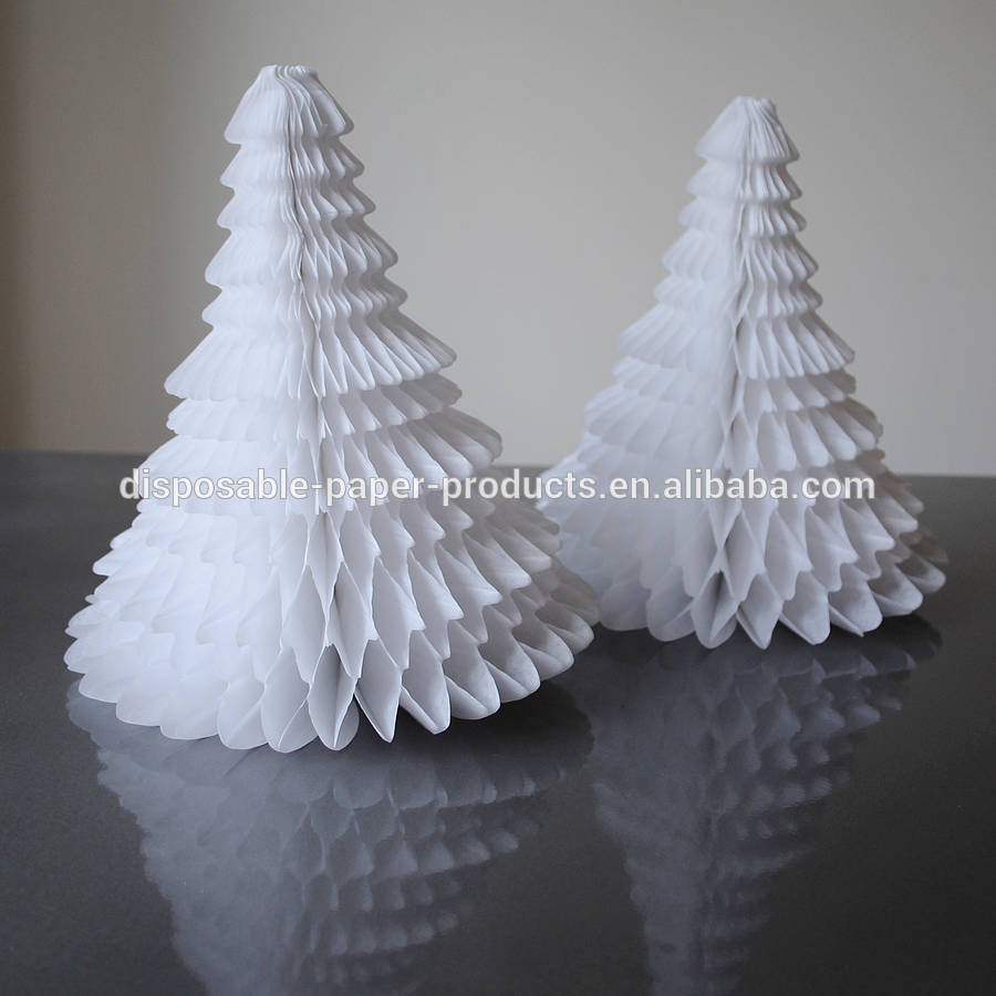 Christmas Honeycomb Paper Decorations