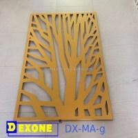 Metal Aluminium Engraved Laser Cut Decorative Panel Sheet ...