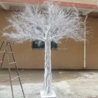 10ft high wedding decorative artificial white dry tree