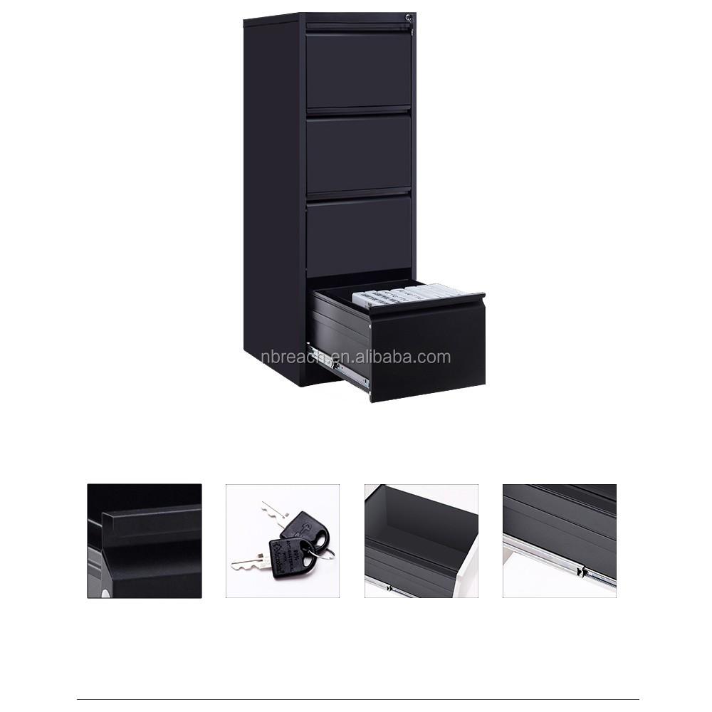 acier classeur 4 tiroir classeur metallique bureau meubles en chine