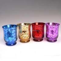 Home Decorative Bulk Wine Glass Votive Hurricane Candle
