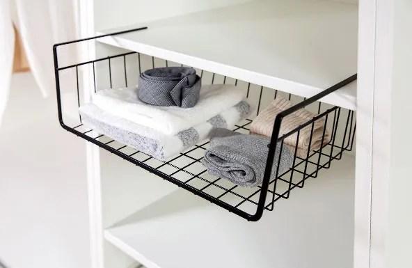 panier a fil coulissant organisateur sous etagere pour placards de cuisine armoire de rangement suspendue buy panier coulissant sous meuble paniers