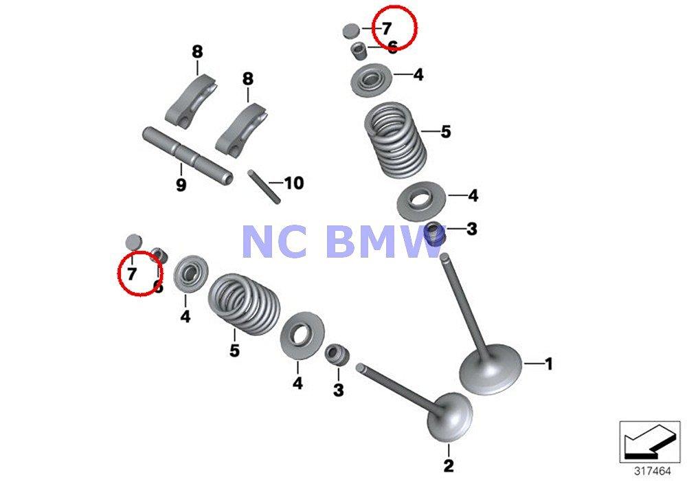 Buy 16 X BMW Genuine Motorcycle Timing Gear Circlip 9-PHR