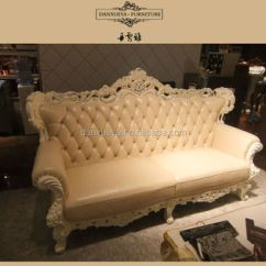 Wood Frame Leather Sofas Distressed Canada Victorian Style Oak Solid Sofa M02 Buy