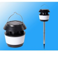 Energy Saving Portable Solar Table Lamp Post With Mosquito