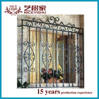 2016 Latest Steel Window Grill Design /main Wrought Iron