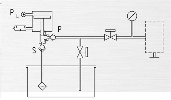 Hydrostatic High Pressure Testing Machine Booster System