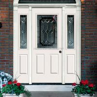 Steel Exterior Double French Doors