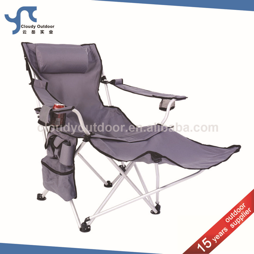 reclining beach chair with footrest seng chicago rocking folding camping buy