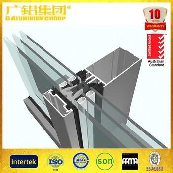 Hot Sale!! Glass curtain wall price/aluminum curtain wall