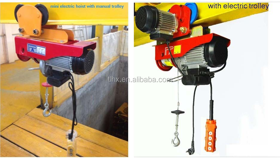 Steel Cable Wire Rope Trolley