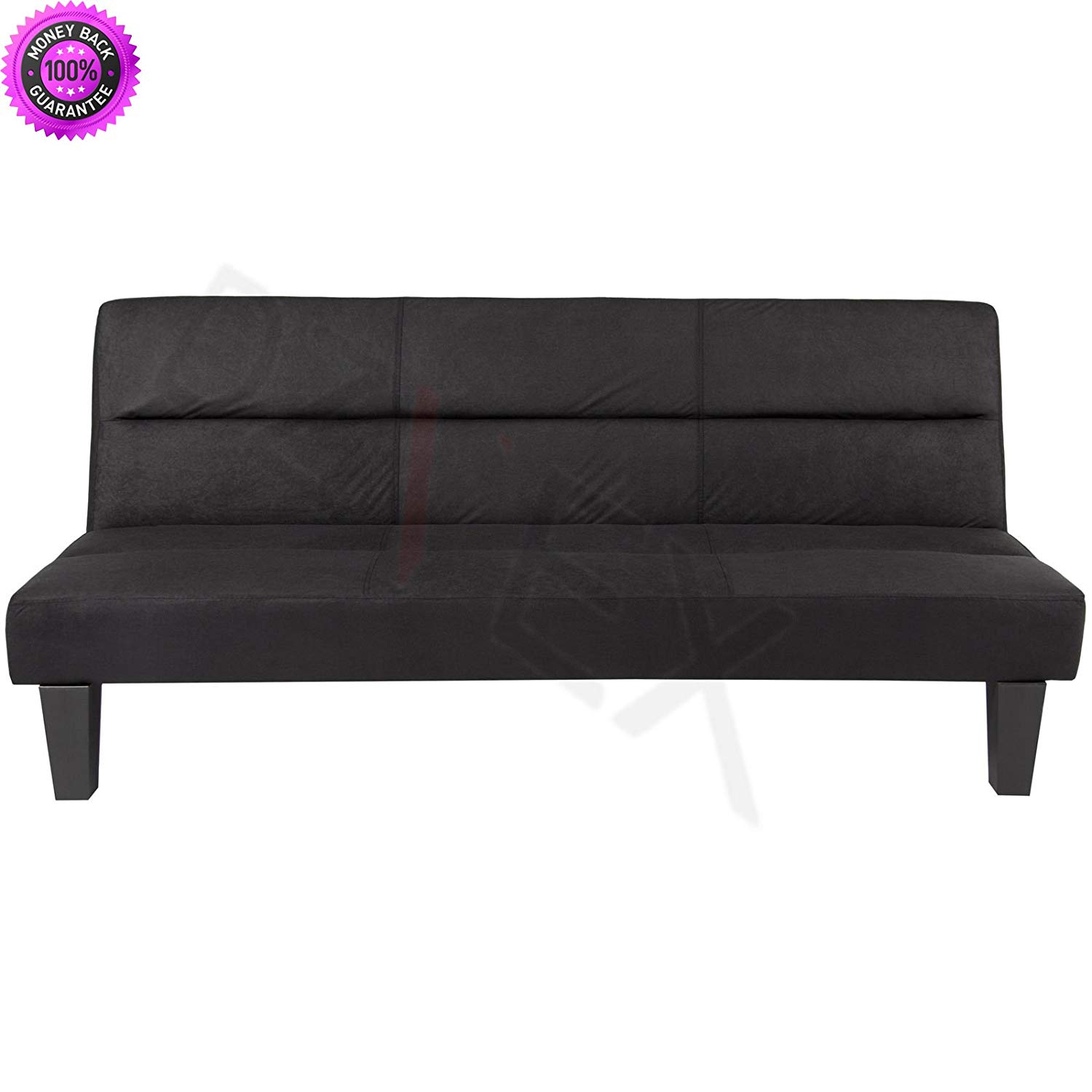 delaney futon sofa bed 3 piece living room set inspiration small apartment cheap find deals on get quotations dzvex microfiber folding couch black and full size fraame mattress