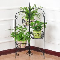 Wrought Iron Flower Holder (xy1318) - Buy Flower Stand ...