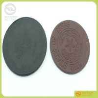 Hot Sell Promotion Leather Coaster