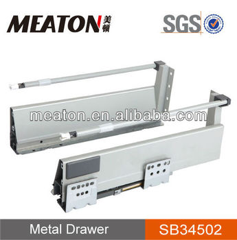 kitchen drawer slides country decorations sliding tool box rails hardware