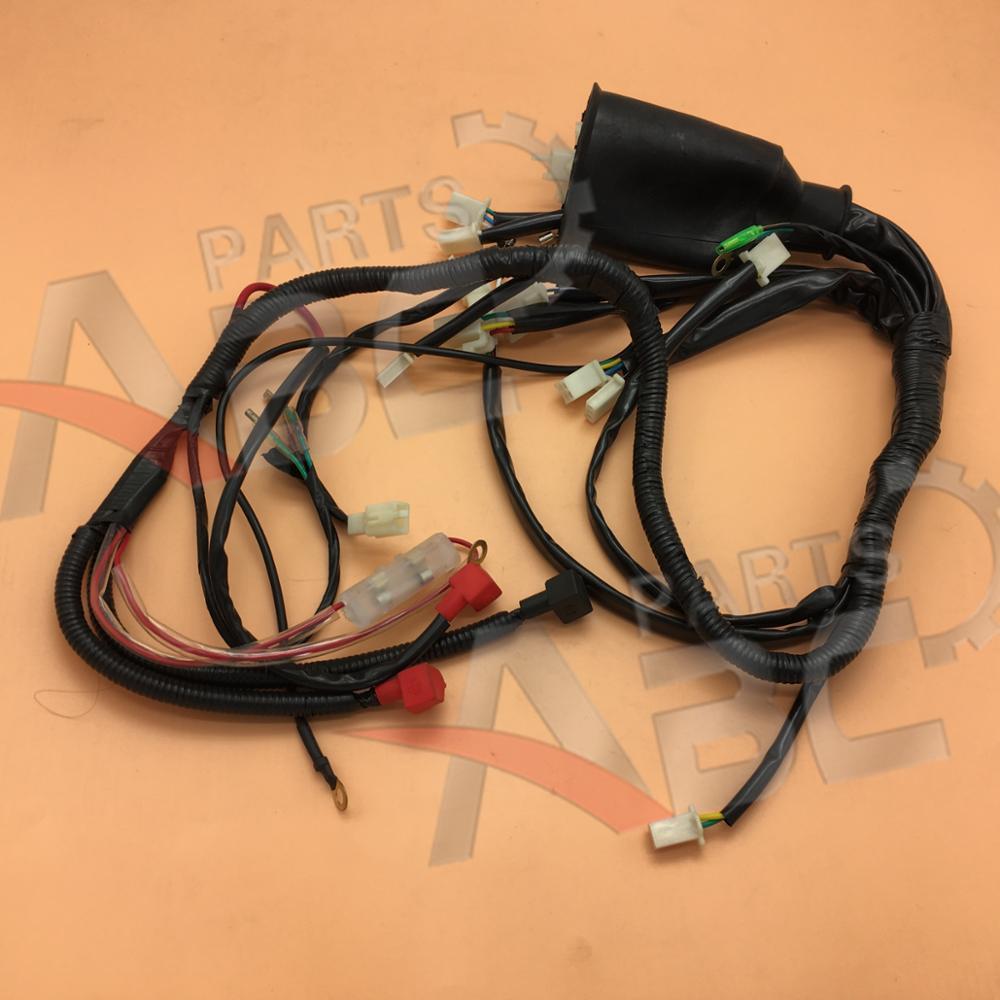 medium resolution of wiring harness cable for chinese taotao 150cc atv 150d utv parts