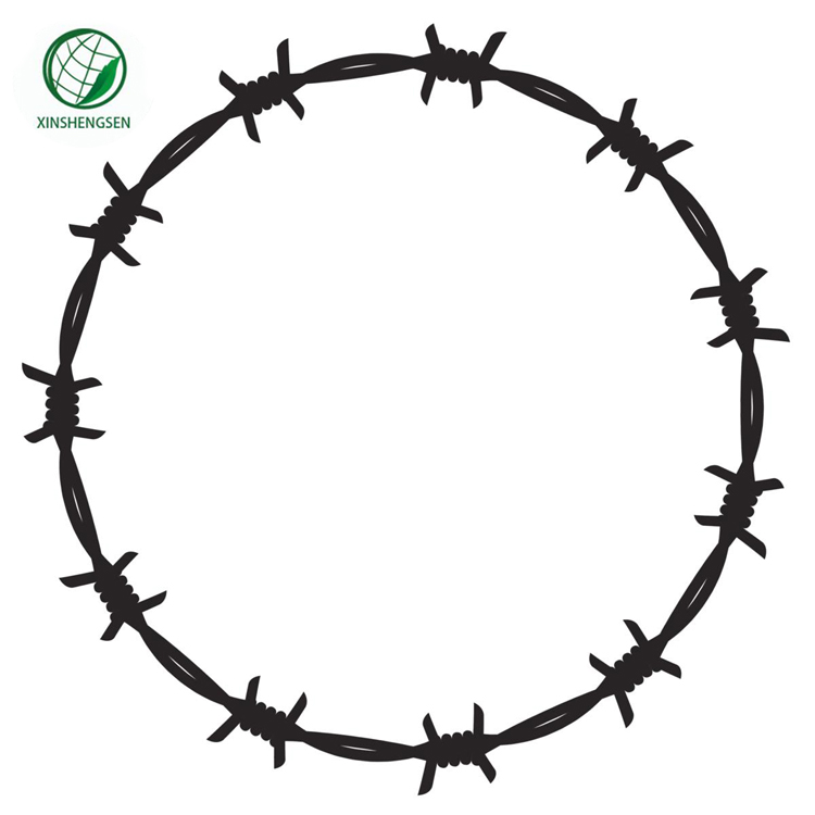 1.65mm Hot Dipped Galvanized Barbed Wire Brackets For