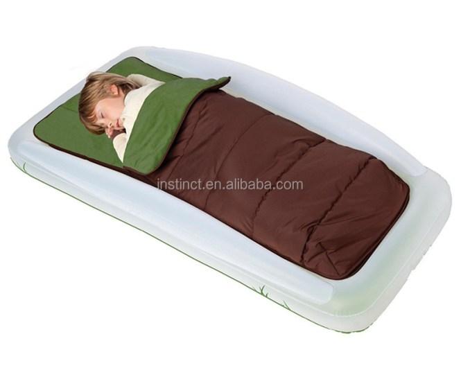 Kids Outdoor Travel Air Mattress Beds Sleeping Bag Inflatable
