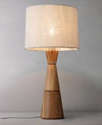 Modern Standing Wood Floor Lamp For Hotel - Buy Natural ...