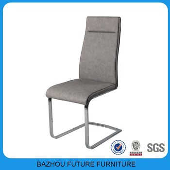 black dining room chairs with chrome legs narrow wheelchair hotel chair pu leather high back