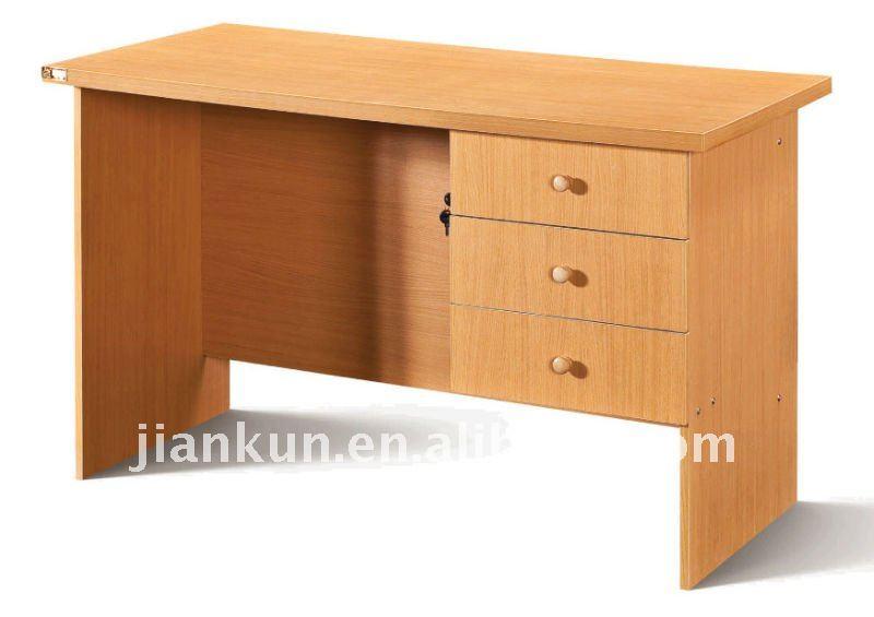 Madera escritorio de la computadora de la Oficina PVC