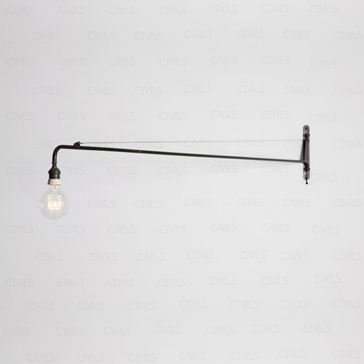 Jean Prouve Potence Wall Lamp Small