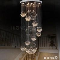 Wholesale New Style Elegant Long Spiral Crystal Ball Rain ...