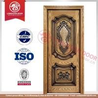 Wooden Single / Double Main Door Design . Teak Wood Main ...