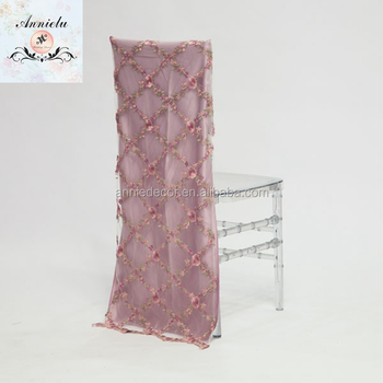 chair covers wholesale china upholstered styles embroidery design wedding restaurant cheap party