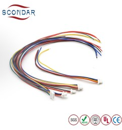 jst sh 1mm pitch 2 pin connector terminal wire harness for battery holder [ 1000 x 1000 Pixel ]