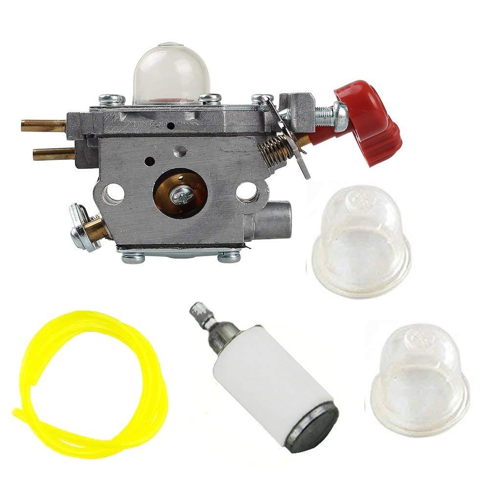 medium resolution of get quotations savior carburetor c1u p27 primer bulb fuel line filter for troy bilt tb2044xp tb2mb