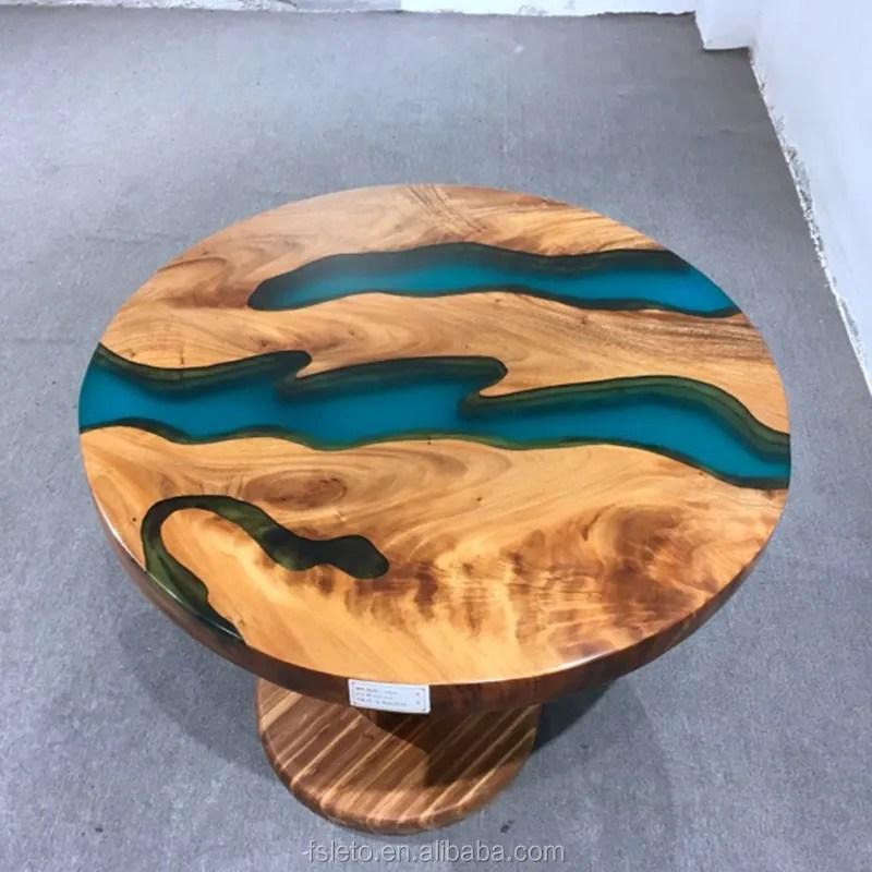 epoxy resin walnut round slab live edge coffee table dining table wood table with epoxy resin custom made buy walnut wood table table with epoxy