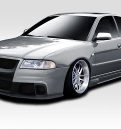 duraflex ed yub 782 version 2 body kit 4 piece body kit  [ 1200 x 800 Pixel ]