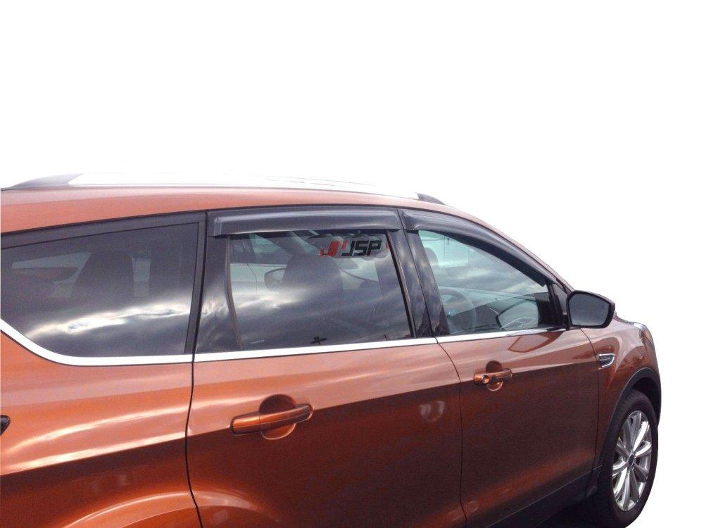 medium resolution of get quotations jsp 218125 ford escape side window deflector 2013 2017 rain guard vent visor