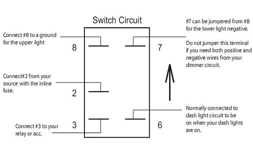 ipf 900xs wiring diagram human liver cell rocker switch for to relay schematic wire toggle 5 horn led 12 volt dc