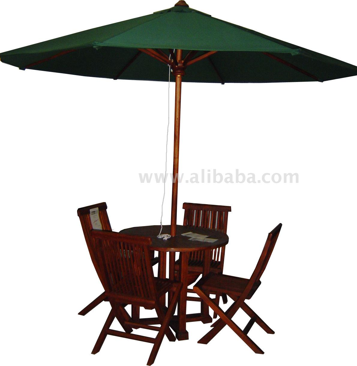 Chair With Umbrella Outdoor Teak Umbrella Folding Chair Table Buy Outdoor Umbrella Product On Alibaba