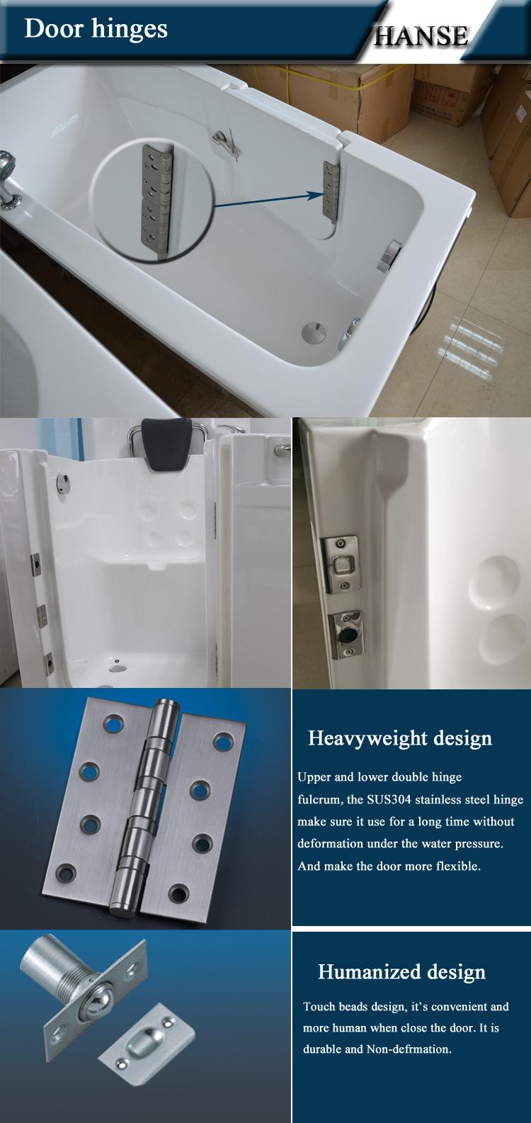 Hs B1108b One Piece Bathtub Shower Walk In Bathtub Shower Combo With Shower Door Buy Walk In Bathtub Shower Combo Walk In Bathtub With Shower