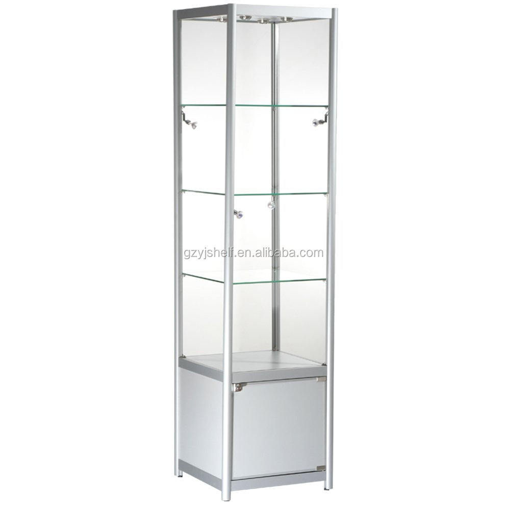 Glass Aluminum Display CaseCheap Storage Cabinet With