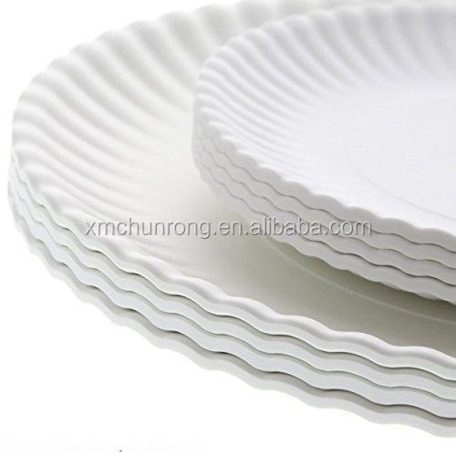 "White ""paper"" Plate/melamine Plate/plate/dish"