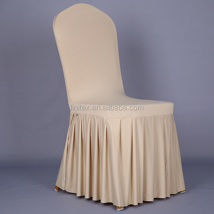 universal chair covers for rent ashley accent polyester lycra spandex stretch cover with accordion pleated skirts hotel banquet ...