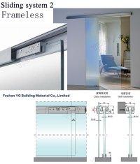 Sliding Glass Door Track / Frameless Sliding Shower Doors ...