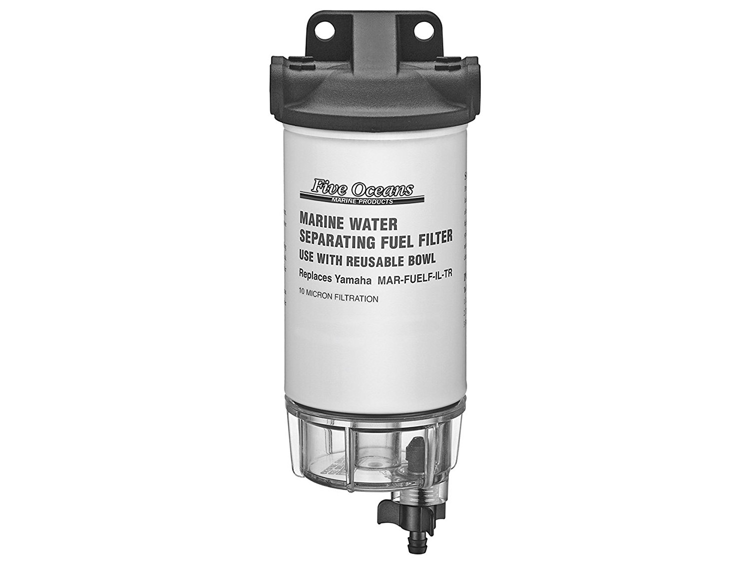 hight resolution of get quotations fuel water separator filter kit w see thru clear bowl head for yamaha engines